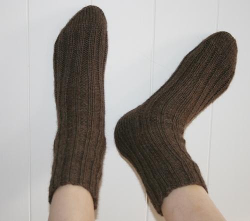 Brune sokker 1